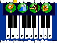 Piano animal - Скриншоты