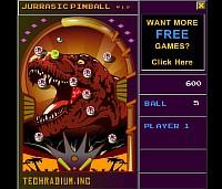 Jurassic Pinball - Скриншоты