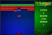 Arkanoid Flash - Скриншоты