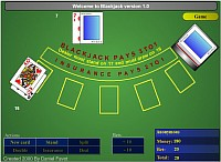 Blackjack - Скриншоты