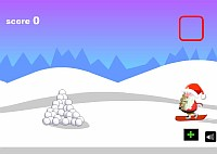 Santa Snowboard скачать