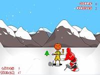 Snowboarding Santa скачать