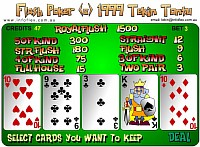 Flash Poker - Скриншоты