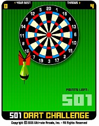 501 Darts - Скриншоты