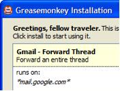 Greasemonkey - Скриншоты
