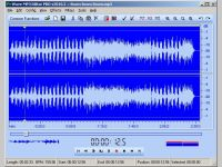 Wave MP3 Editor - Скриншоты