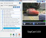 SopCast Player - Скриншоты