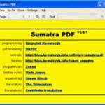 Sumatra PDF - Скриншоты