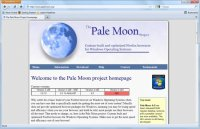 Pale Moon - Скриншоты