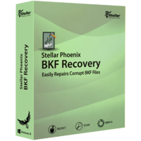 Stellar Phoenix BKF Recovery - Скриншоты
