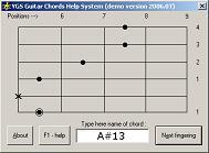 YGS Guitar Chords Help System (303 �������) - ���������